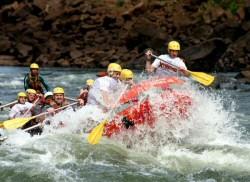 Rafting no Rio Iguaçu