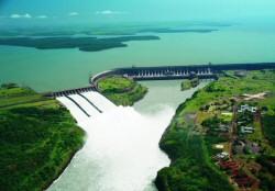 Vista Aérea de Itaipú Binacional