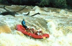Descendo o Rio em Brotas