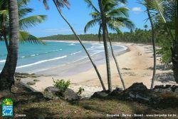 Praia de Coeira - Separada da praia de Tassimirim por um bloco de coral.